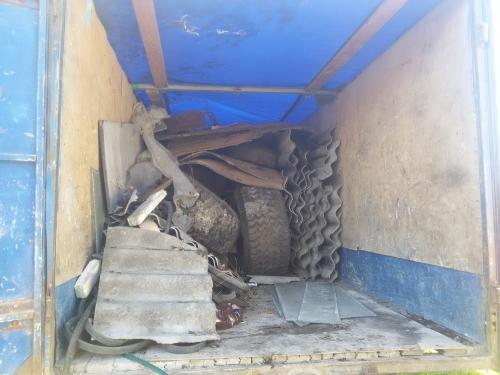 Вывоз строительного мусора в Курске на газели